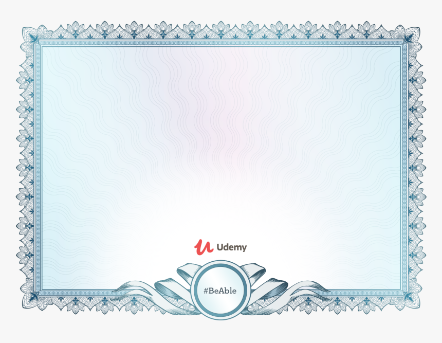 Transparent Blank Certificate Template Png Udemy Web Developer Bootcamp Certificate Png Download Kindpng,80s Designer Imposters Body Spray