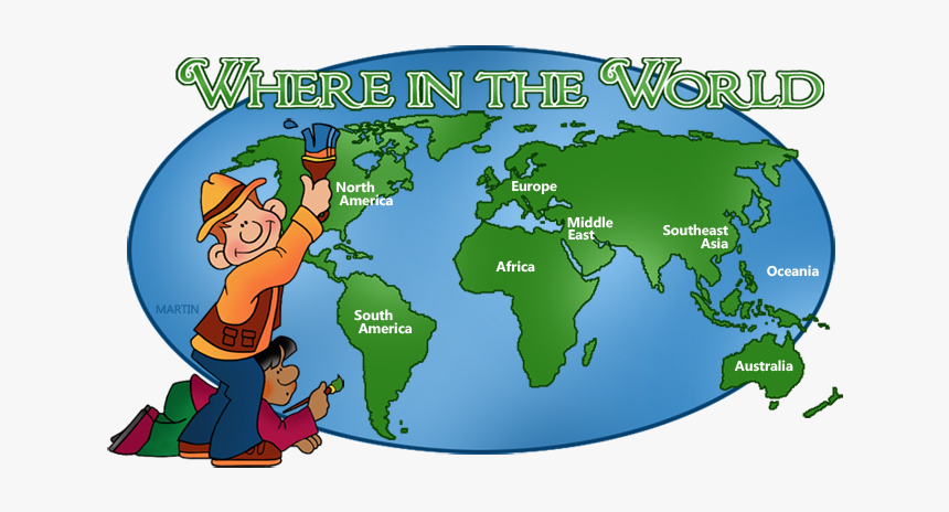 World Map Not Labeled, HD Png Download - kindpng