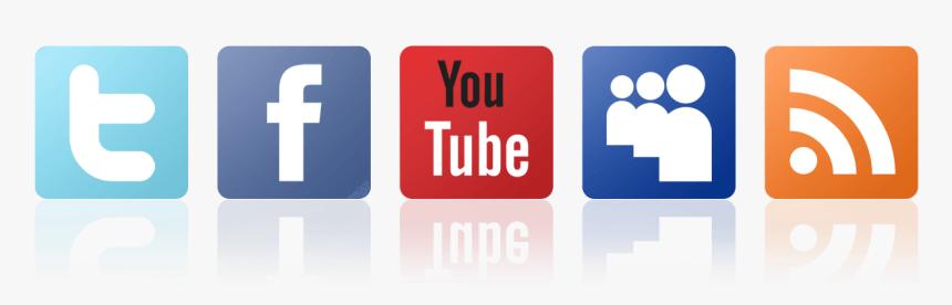 Social Management & Asset Building - Social Media Follow Icons Png, Transparent Png, Free Download