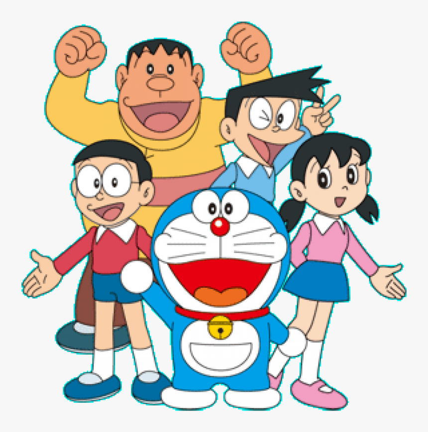 Doraemon 3d Wallpapers 2015 Source - Doraemon And Friends Drawing, HD Png Download, Free Download