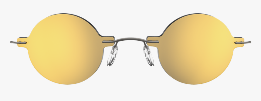 Golden Sunglasses Png, Transparent Png, Free Download