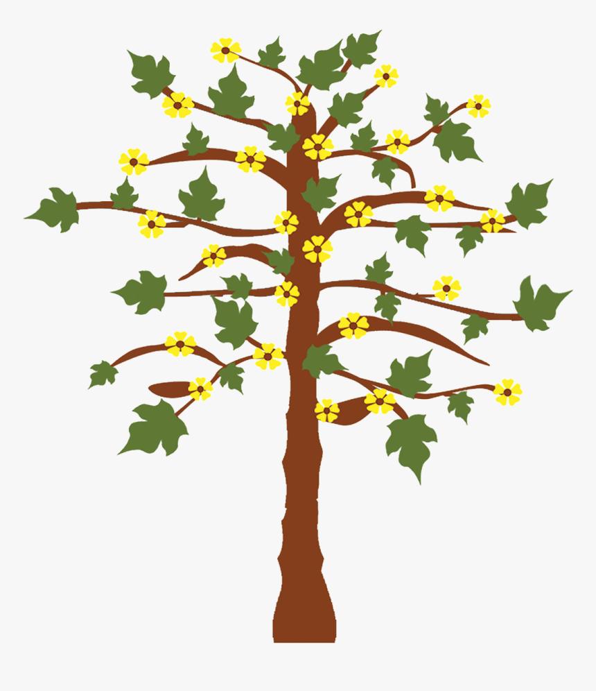 Gambar Pohon Dan Bunga Hd Png Download Kindpng