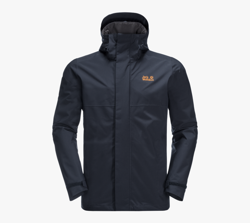 "National Trust Jack Wolfskin Men""s Cragside Jacket, - Jack Wolfskin Jacket Mens Blue, HD Png Download, Free Download"
