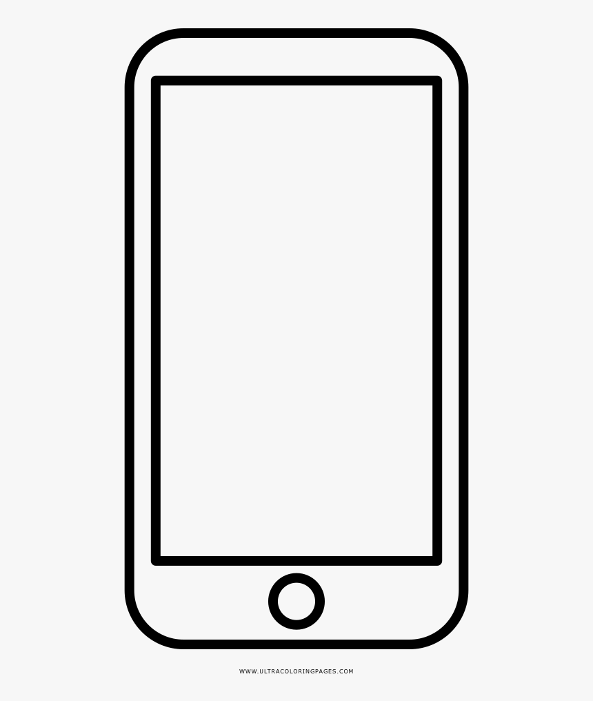 Phone Coloring Pages Mobile Page Ultra - Mobile Phone ...