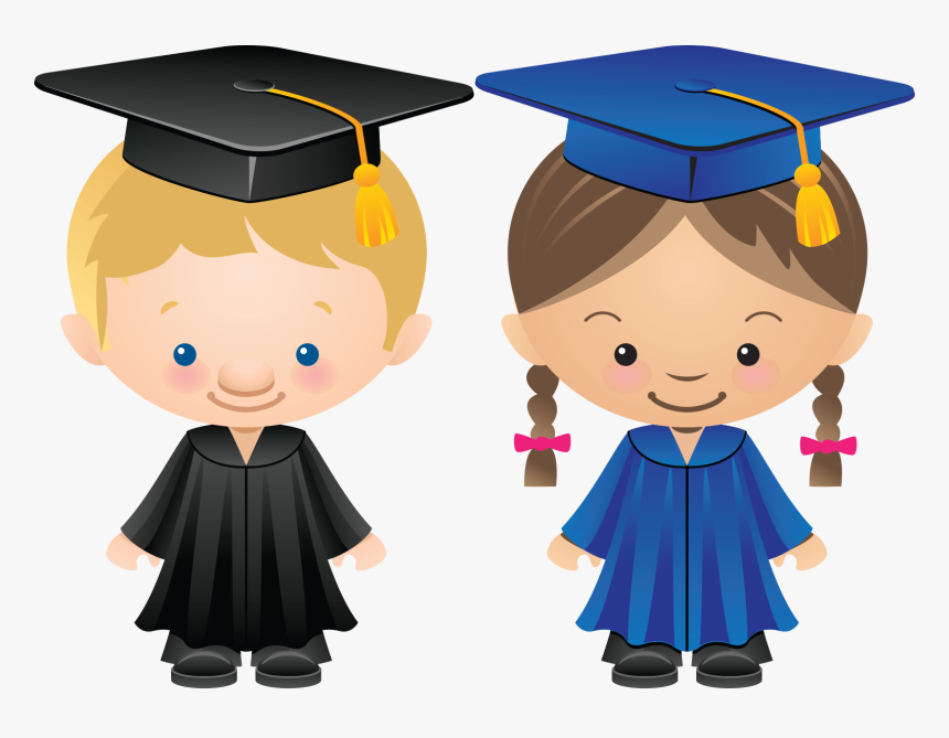 Graduation Boy Png - Graduation Boy And Girl Clipart, Transparent Png, Free Download
