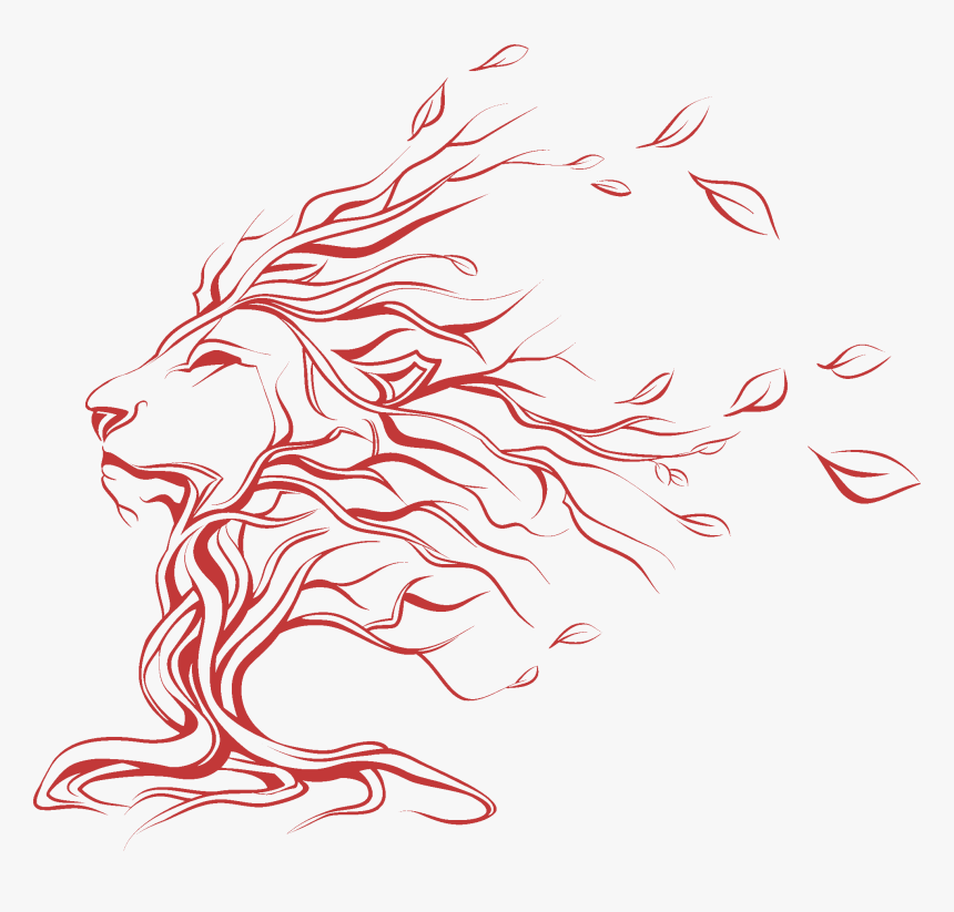 Lion Tattoo Clipart Singham Tree With Lion Face Hd Png Download Kindpng Lion head tattoos are the most common lion tattoos, you don't see full body lion tattoos very often. lion tattoo clipart singham tree with