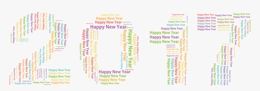Transparent Happy New Year Png - Orange, Png Download, Free Download