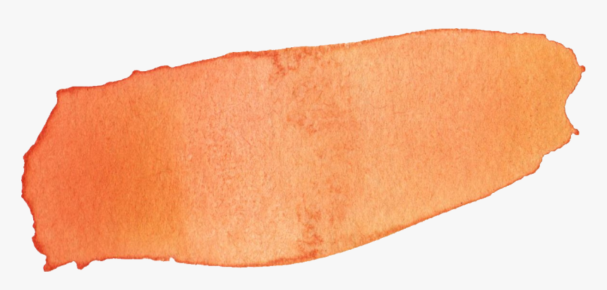 Peach Brush Stroke Png, Transparent Png, Free Download