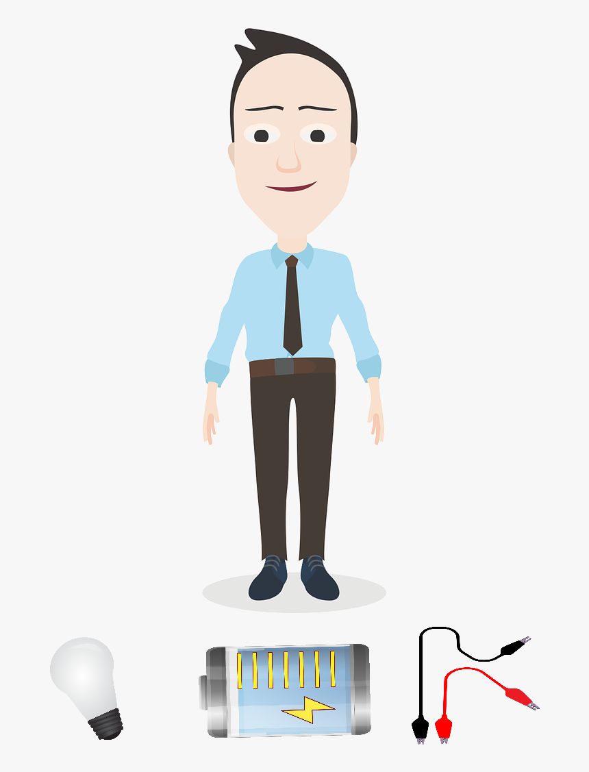The Trainee Technician - Cartoon, HD Png Download, Free Download