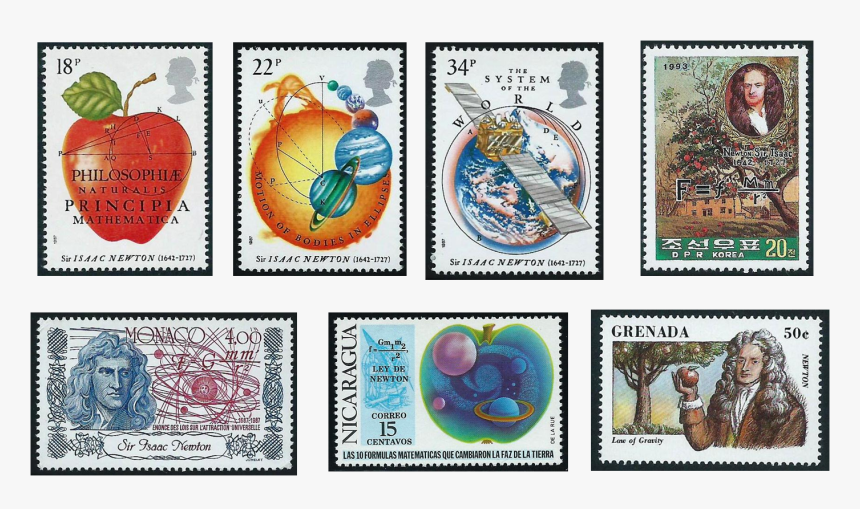 Isaac Newton Stamps, HD Png Download, Free Download