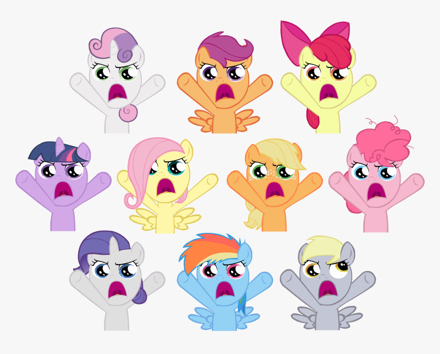 Sweetie Belle Pinkie Pie Applejack Twilight Sparkle - My Little Pony Apple Pai, HD Png Download, Free Download