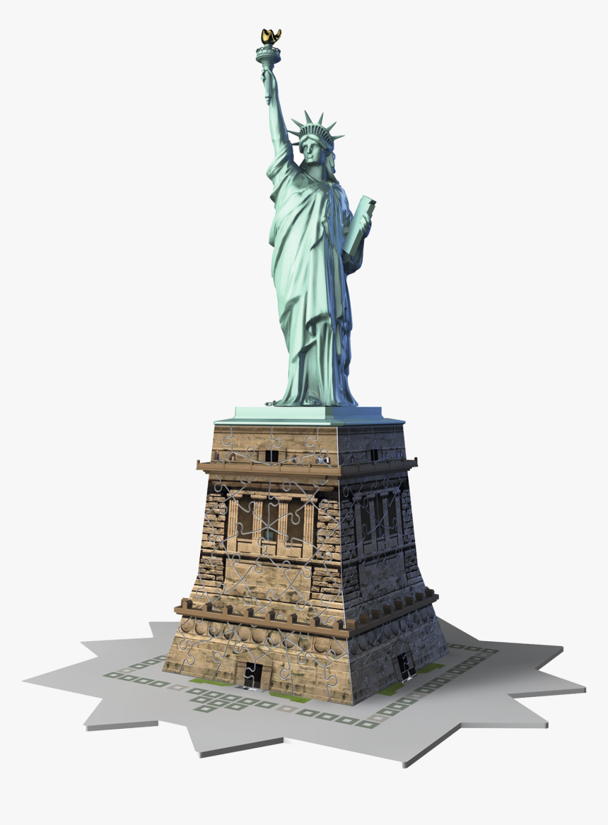 Statue De La Liberté Puzzle 3d, HD Png Download, Free Download