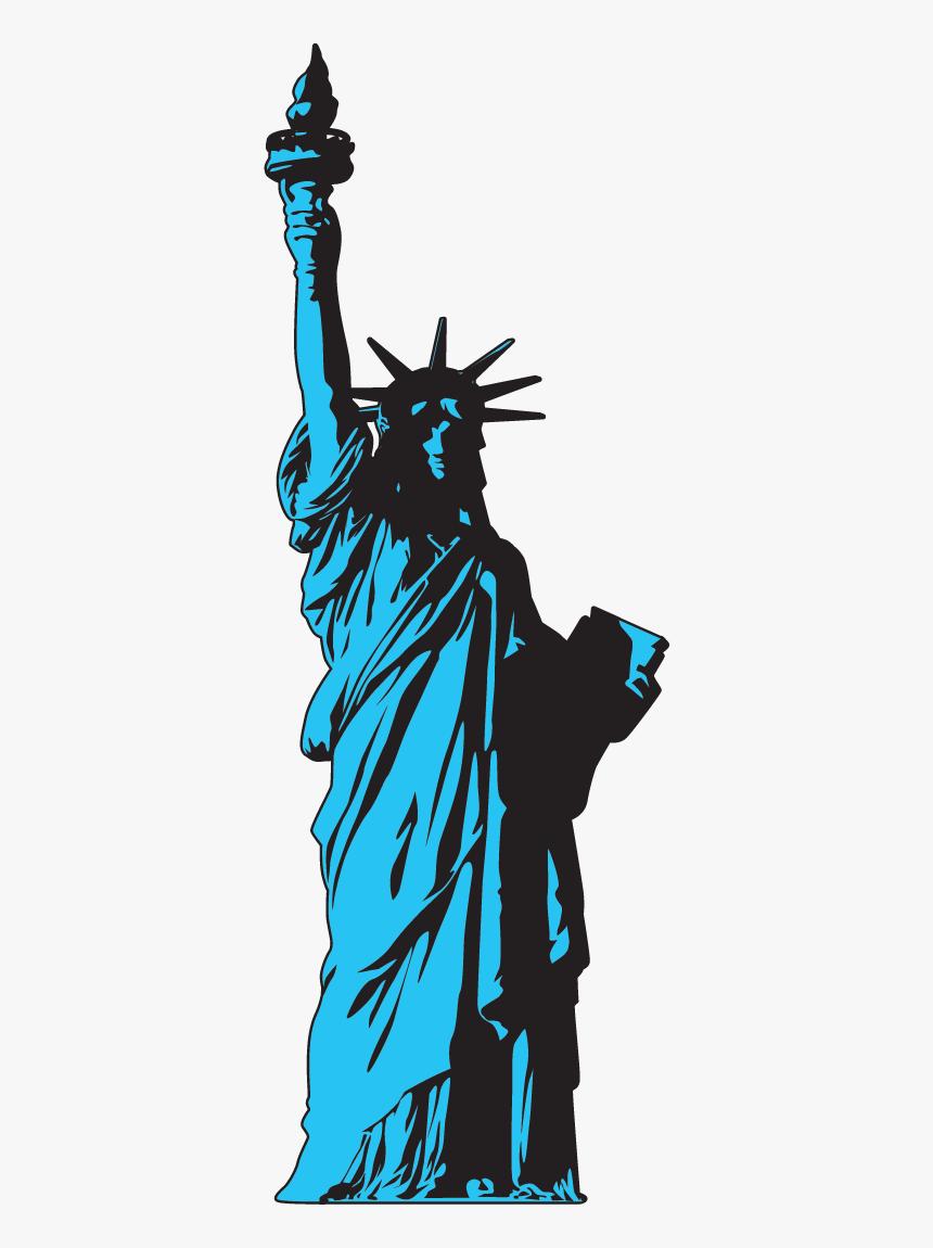 Thumb Image - Statue Of Liberty Vectors Png, Transparent Png, Free Download
