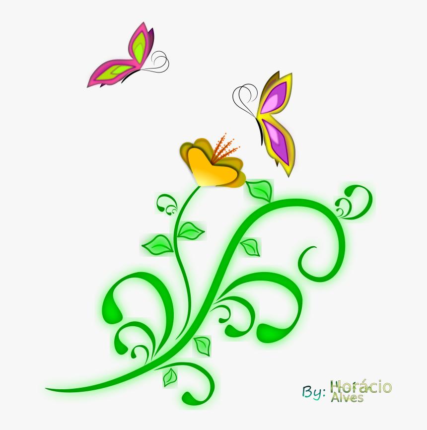 Borboletas - Clip Art Borboletas, HD Png Download, Free Download