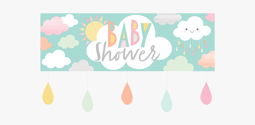 Sunshine Baby Showers Giant Banner With Attachments Illustration Hd Png Download Kindpng