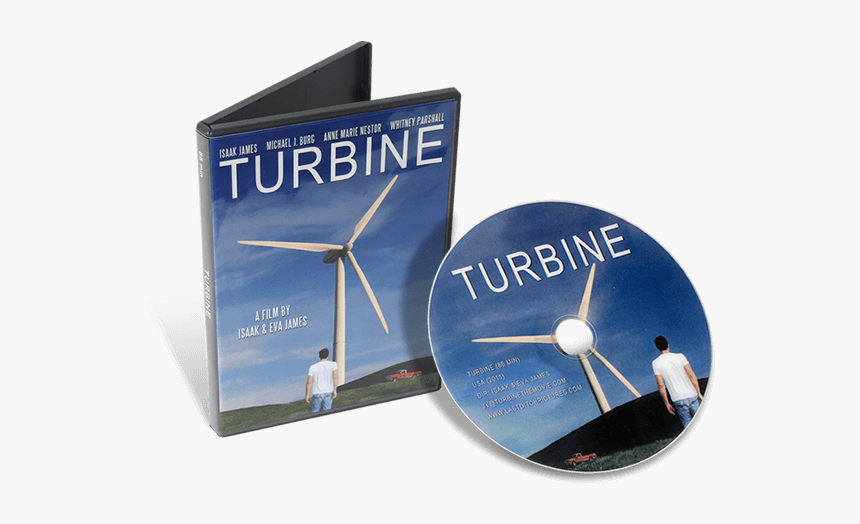 Dvds In Dvd Cases - Wind Turbine, HD Png Download, Free Download