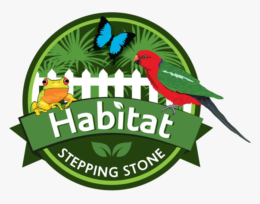 Habitat Stepping Stones Logo - Logo Habitat Animal, HD Png Download, Free Download