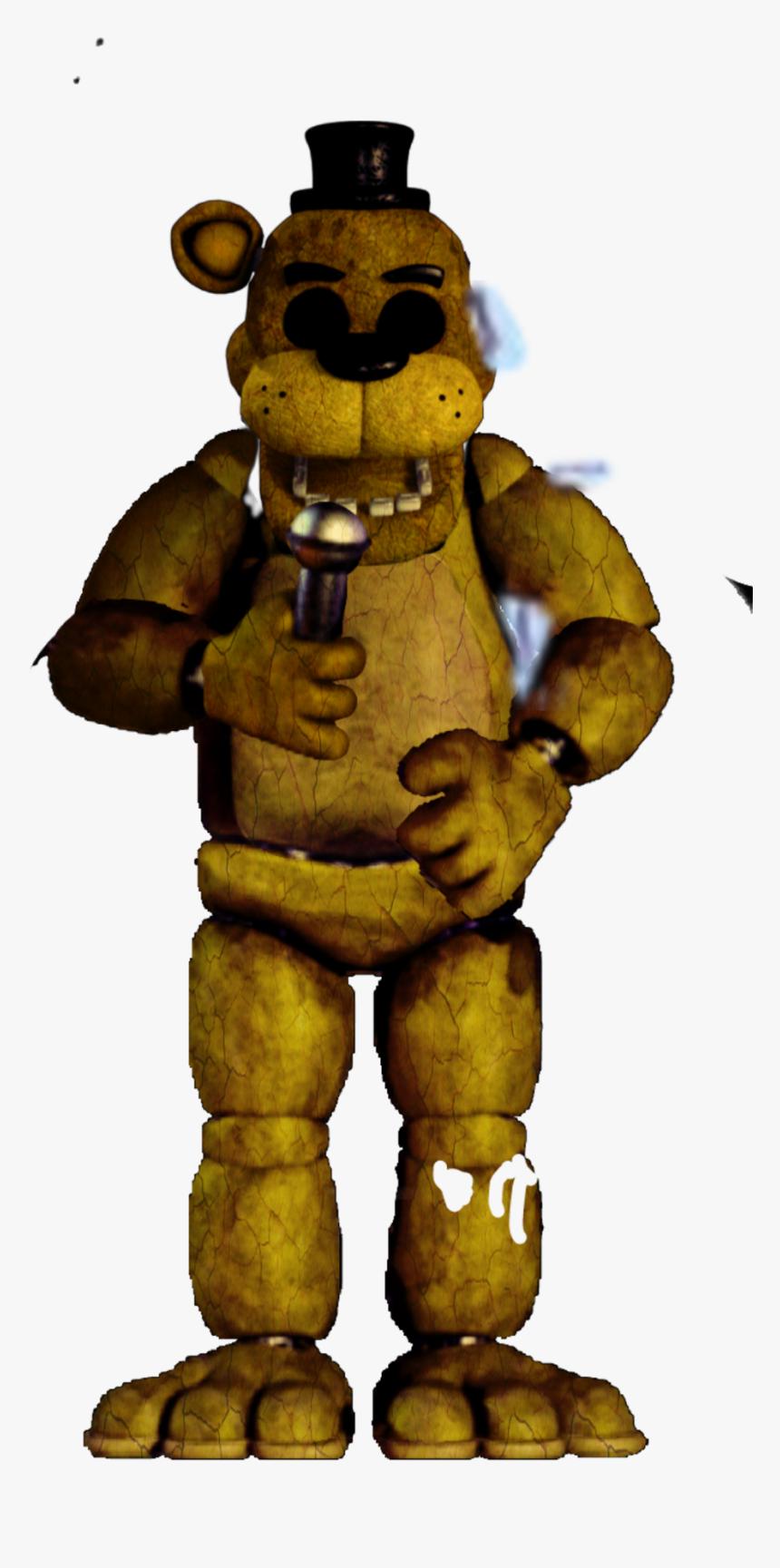 Fnaf Gold Freddy