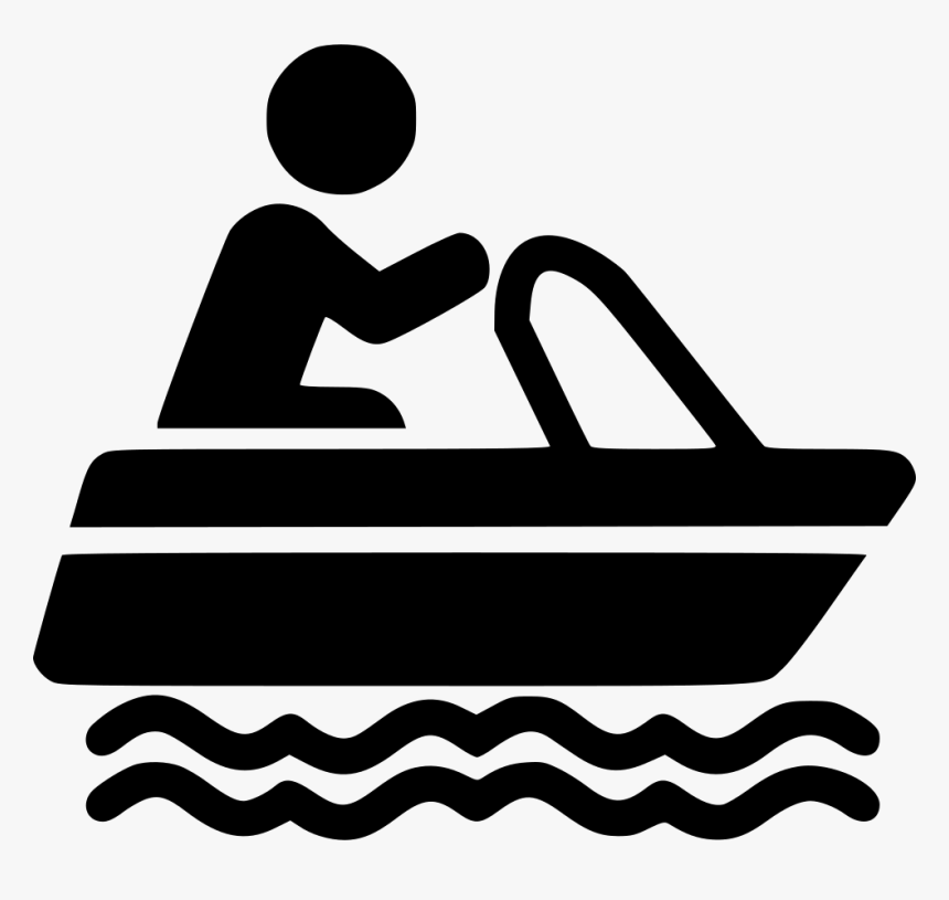 Clip Art,boating,black And - Boating Icon, HD Png Download, Free Download