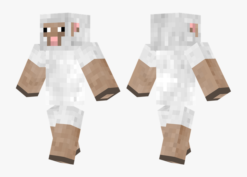 Minecraft Pe Sheep Skin, HD Png Download, Free Download