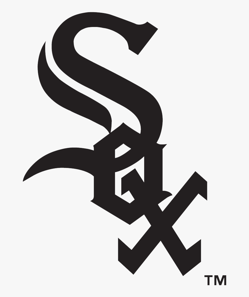 Chicago White Sox Logo Black And White - Chicago White Sox Printable Logo, HD Png Download, Free Download