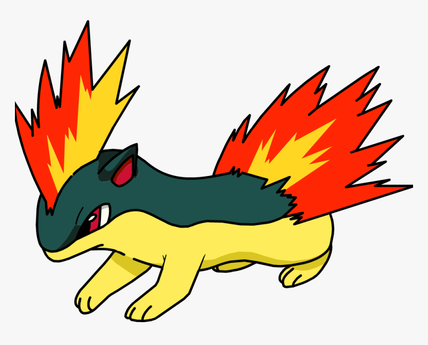 Hd Pokemon Shiny Sprites - Transparent Quilava Png, Png Download, Free Download