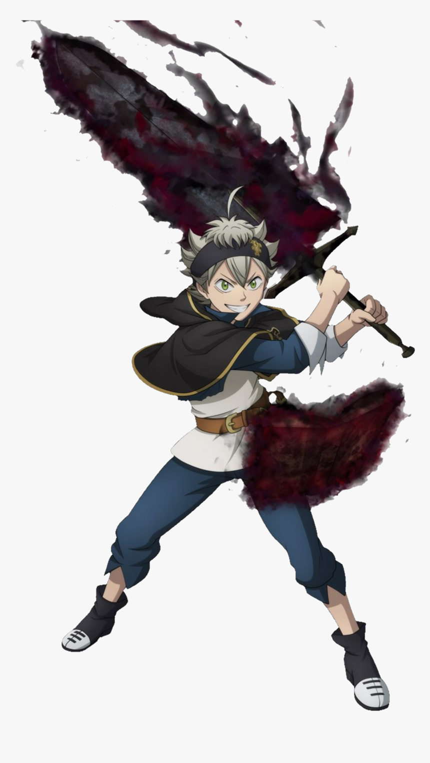 Asta Black Clover - Asta Demon Form Png, Transparent Png, Free Download