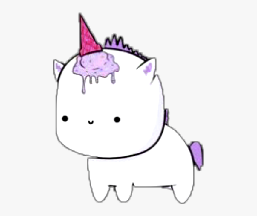 #unicorn #tumblr #unicornio #unicornland #pink #rosa - Unicornio Cool Png, Transparent Png, Free Download