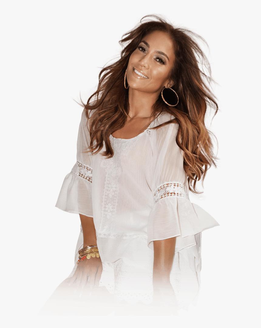Jennifer Lopez White Dress - Jennifer Lopez Transparent Background, HD Png Download, Free Download