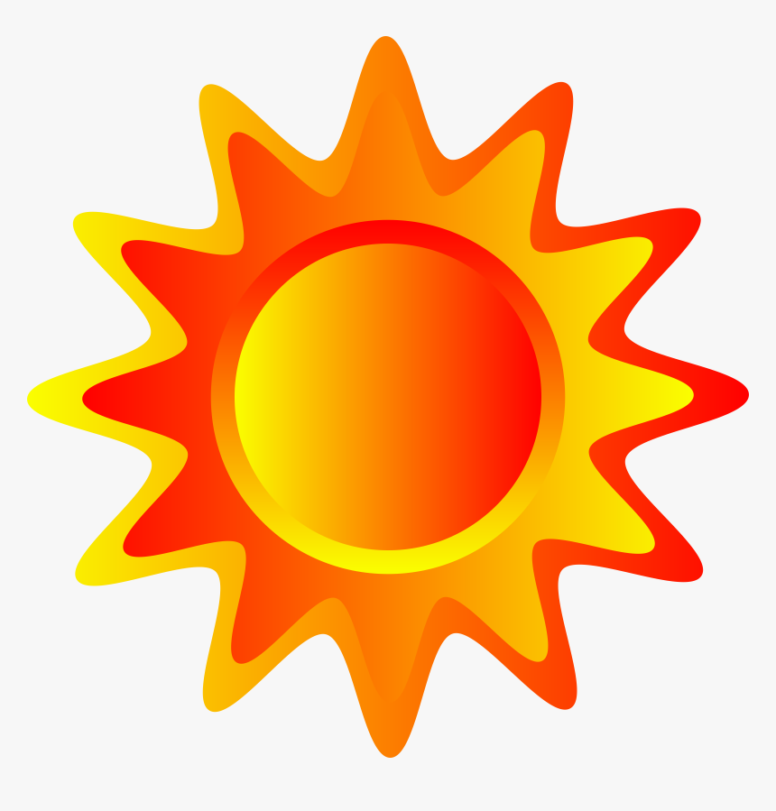Yellow And Orange Sun, HD Png Download, Free Download