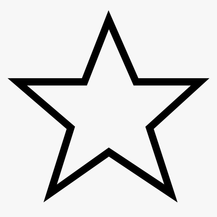 Stars Svg Png Icon - Star Coloring Pages Transparent, Png Download, Free Download