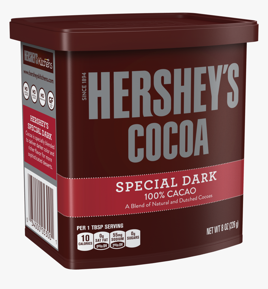 Hershey's Dark Chocolate Cocoa Powder, HD Png Download, Free Download