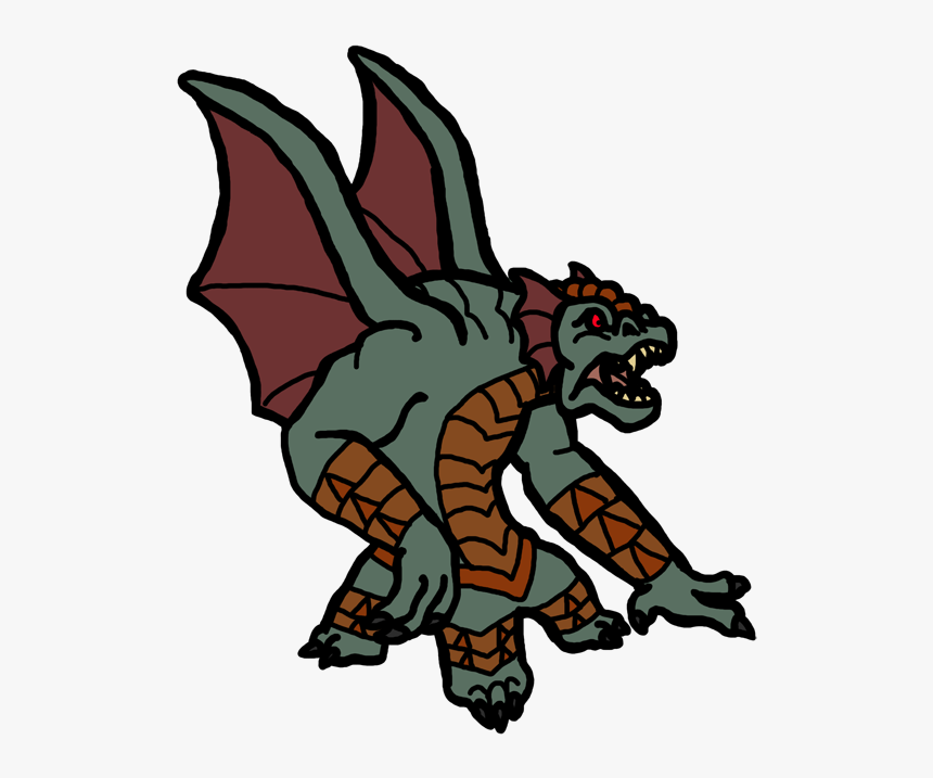 30 Day Kaiju Challenge Round 2 Entry Clipart , Png - Animal Figure, Transparent Png, Free Download