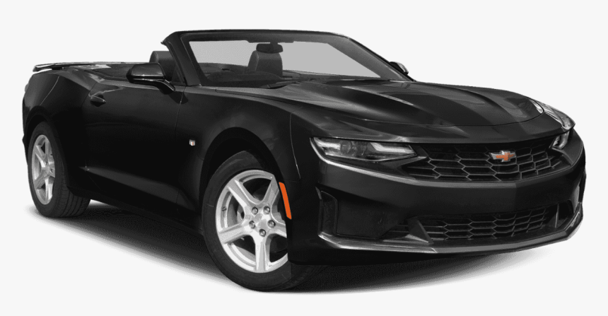 New 2020 Chevrolet Camaro 2ss - 2019 Chevy Camaro Convertible Black, HD Png Download, Free Download