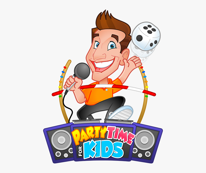 Transparent Disco Clipart - Kids Party Time, HD Png Download, Free Download