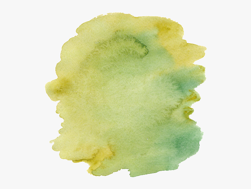 Yellow Green Hand Painted Watercolor Cartoon Vegetable - Watercolor Paint, HD Png Download, Free Download