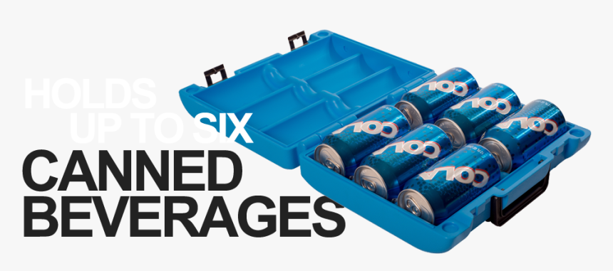 Holds Up To Six Canned Beverages - Cool It Cooler, HD Png Download, Free Download