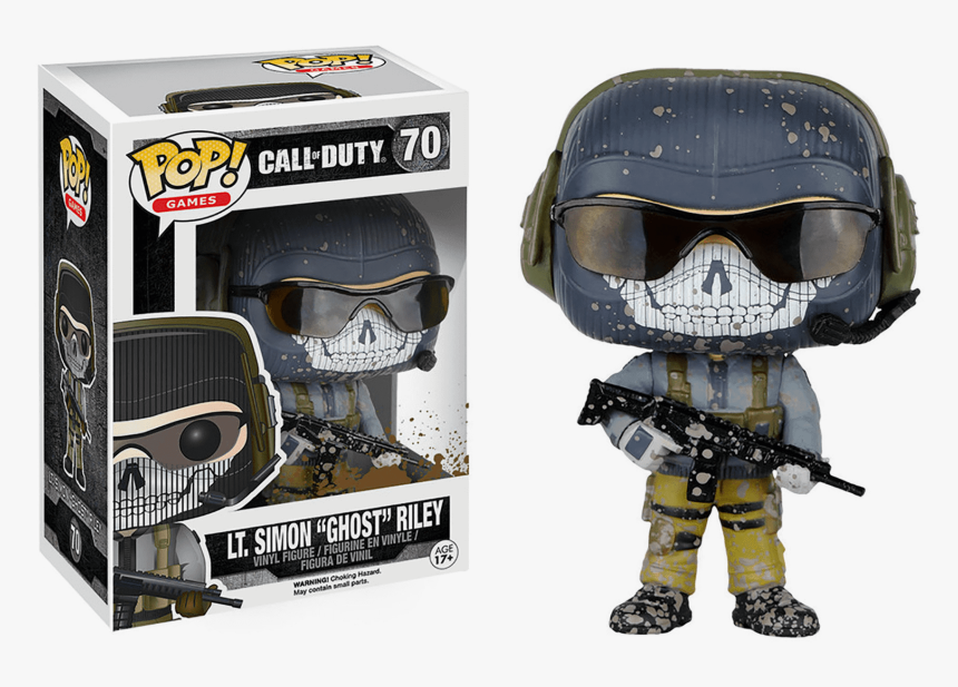 Simon Ghost Riley Funko Pop, HD Png Download, Free Download