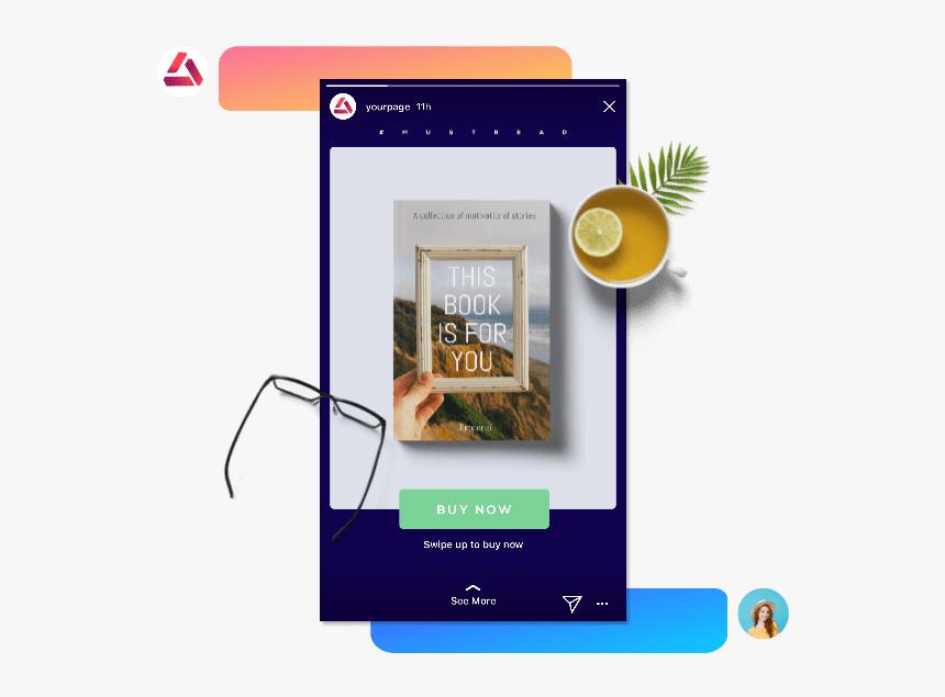 Transparent Swipe Up Png Instagram Shoppable Posts Cars Png Download Kindpng