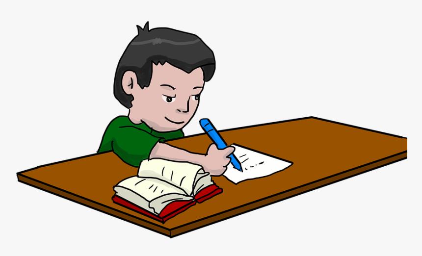 Clipart of student doing homework write my economics dissertation introduction