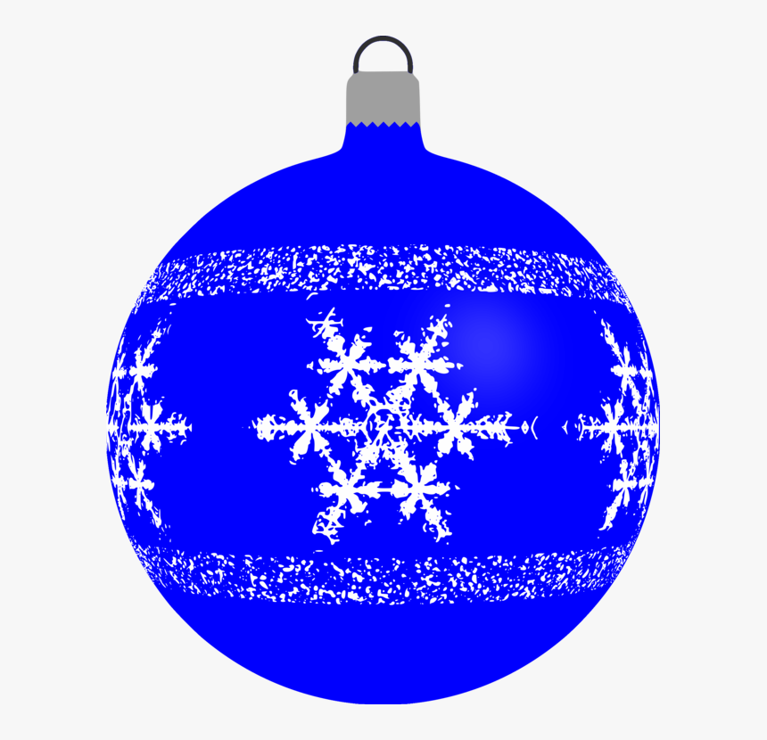 Bauble, Christmas, Decoration, Ornament, Snowflake - Christmas Bauble Clipart, HD Png Download, Free Download