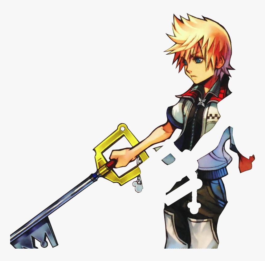 Roxas Kingdom Hearts Png, Transparent Png, Free Download