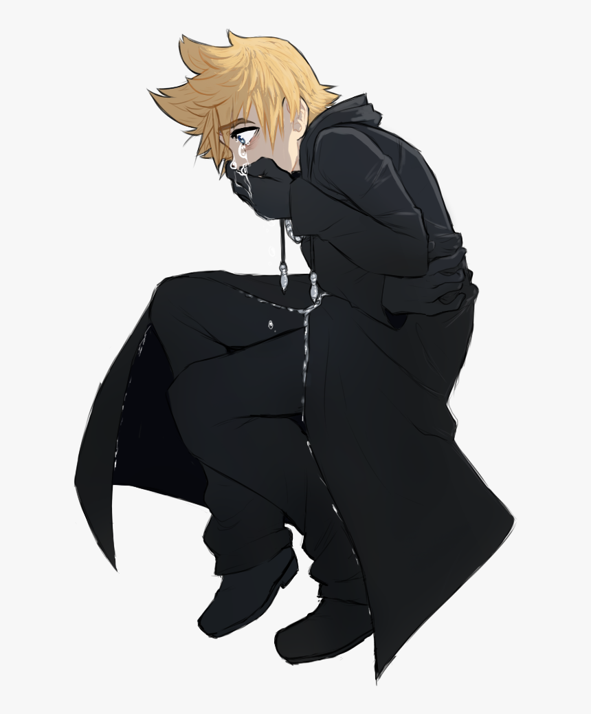 """""""i""""m Here To Kick Heartless And Cry Over My Boy And - Kingdom Hearts Roxas Fanart, HD Png Download, Free Download"""