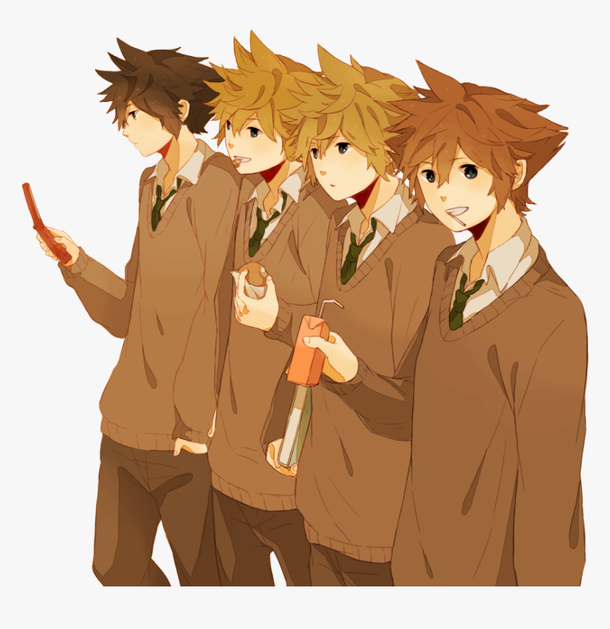 Four Brothers Photo Fourbrothers - Brothers Kingdom Hearts Ventus Vanitas Sora Roxas, HD Png Download, Free Download