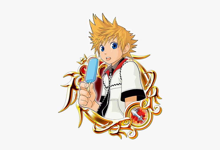 Toon Roxas And Pals - Kingdom Hearts Key Art 1, HD Png Download, Free Download