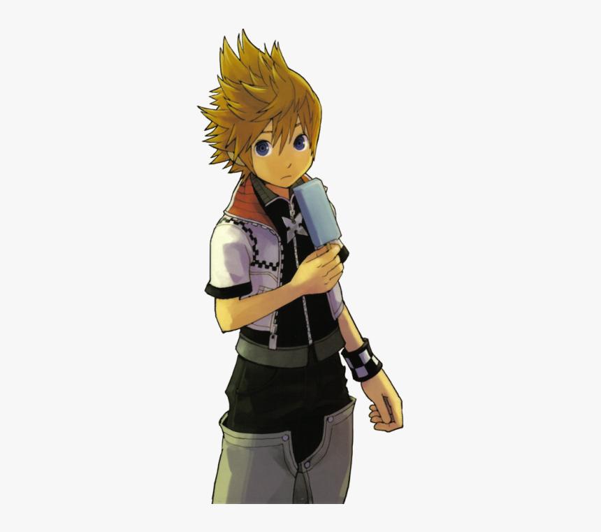 Kingdom Hearts Roxas Render, HD Png Download, Free Download