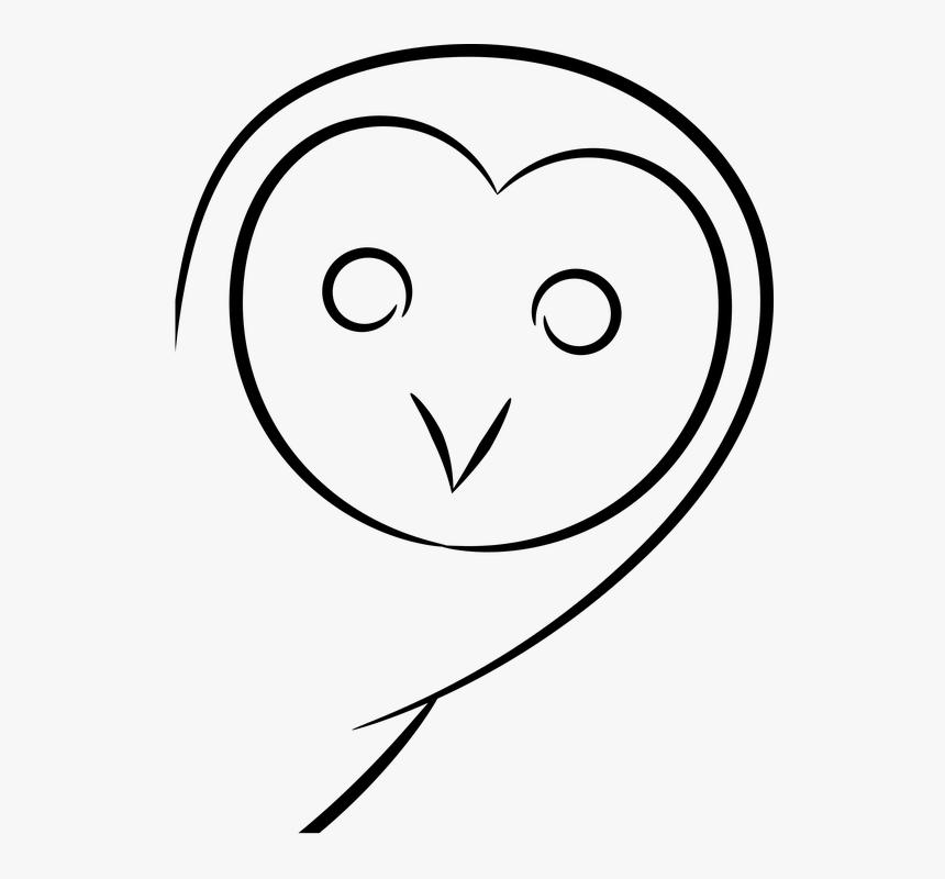 Black And White Cartoon Owls 12 Buy Clip Art Gambar Sketsa