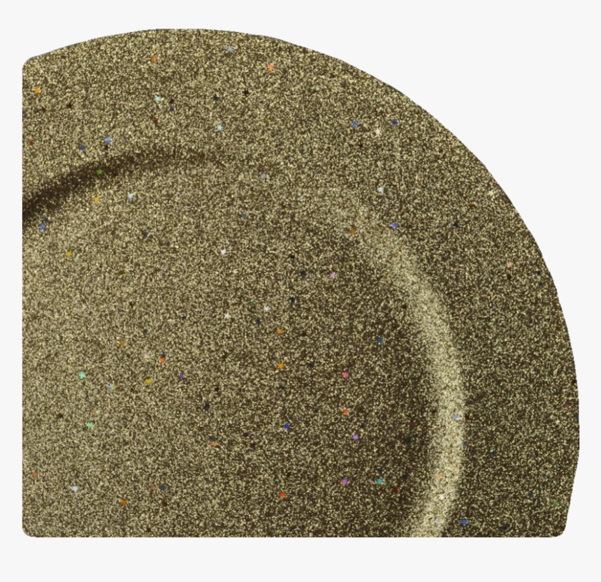 12 Inch Gold Glitter Stars Lacquer Charger - Placemat, HD Png Download, Free Download