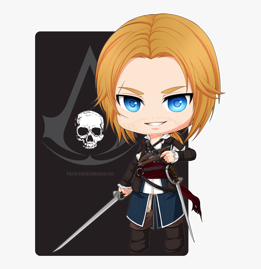 Assassins Creed Chibi And Edward Kenway Image Assassin S Creed