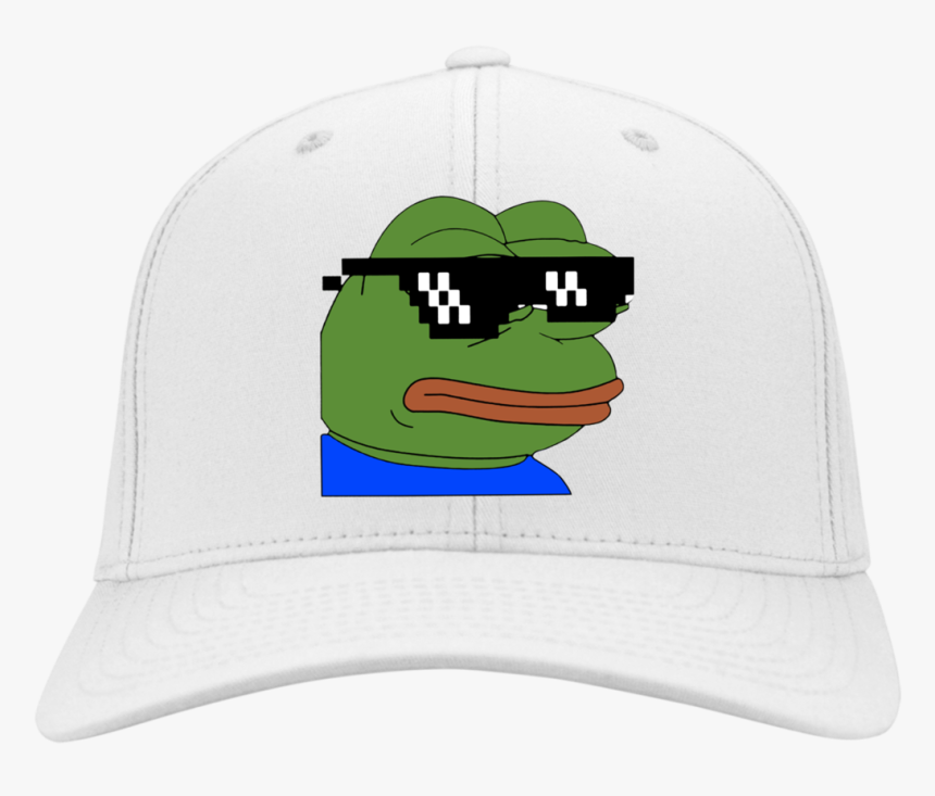 Pepe Thug Life Glasses Hat - Sticker Tumblr Pepe, HD Png Download, Free Download